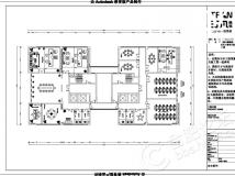 【汀凡装饰作品】1600平米办公室装修 工业风格设计案例