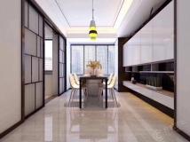 紫金公馆108平方现代风格方案