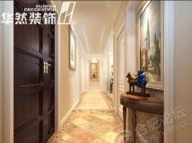 【华然装饰】金榈园-150平-简美风