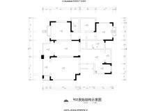 【华迪装饰】报业园(128平米*2)楼上楼下打通老少四口之家