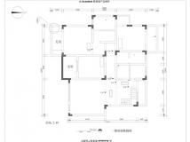 【华迪装饰】天下锦城洋房312平米四室户型解析欧式效果图