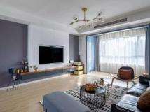 102㎡简约风,明亮通透,舒适惬意的现代之家~
