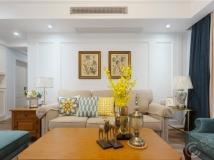 【百冠装饰】现代美式风格 三室两厅