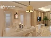 【天下锦城03房型83.34平方案例】现代装修设计