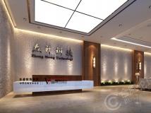 【华迪装饰】1000平方现代风格办公室设计